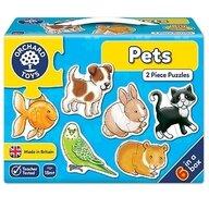 Orchard Toys - Set 6 puzzle Animale de companie, 12 piese