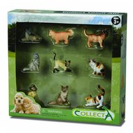Collecta - Set 9 figurine Catei si Pisici