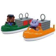 AquaPlay - Set 2 barci Cu 2 figurine, Cu container