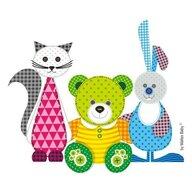 Maltex Baby - Set Inaltator Cu taburet Bear & Friends