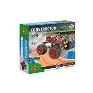 Alexander Toys - Set de constructie Vehicul Crusher Monster Truck , Constructor , 199 piese metalice