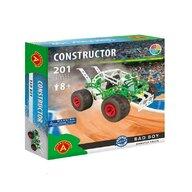 Alexander Toys - Set de constructie Vehicul Bad Boy Monster Truck , Constructor , 201 piese metalice