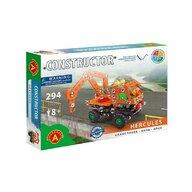 Alexander Toys - Set de constructie Vehicul Hercules , Constructor , 294 piese metalice