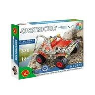Alexander Constructor - Set constructie 370 piese metalice Constructor Helper SUV, Alexander