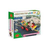 Alexander Toys - Set de constructie Vehicul Masina , Constructor Junior , 55 piese din Lemn