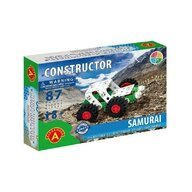 Alexander Toys - Set de constructie Vehicul Samurai Offi Road , Constructor , 87 piese metalice