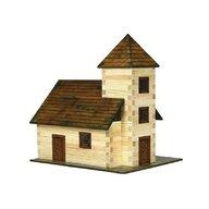 Walachia - Set constructie arhitectura Biserica, 213 piese din lemn,