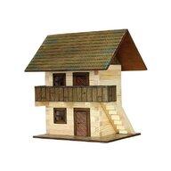 Walachia - Set constructie arhitectura Granar, 126 piese din lemn,