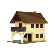 Walachia - Set constructie arhitectura Primarie medievala, 194 piese din lemn,