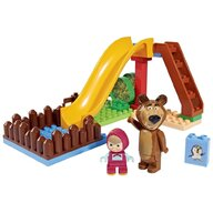 Big - Set constructie  Masha and the Bear Pool Fun 29 piese