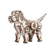 EWA - Puzzle 3D Puppy , Puzzle Copii , Cu mecanism din Lemn, piese 246