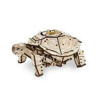 EWA - Puzzle 3D Turtle , Puzzle Copii , Cu mecanism din Lemn, piese 269