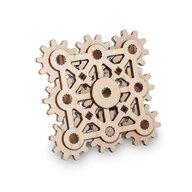 EWA - Puzzle 3D Twister Maxi , Puzzle Copii , Mini, Cu mecanism din Lemn, piese 26