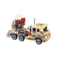 Blocki - Set cuburi constructie MyArmy Lansator de rachete, 210 piese,