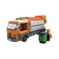 Blocki - Set cuburi constructie MyCity Camionul de gunoi, 410 piese,