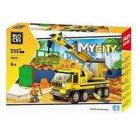 Blocki - Set cuburi constructie MyCity Masina de tractari, 233 piese,