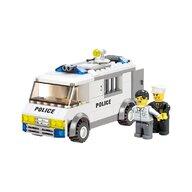 Blocki - Set cuburi constructie MyPolice Duba de politie 2, 135 piese,