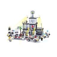 Blocki - Set cuburi constructie MyPolice Sectia de politie - Comisariat, 631 piese,