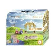 Matador - Set cuburi de constructie din lemn Maker World Country, +3 ani,