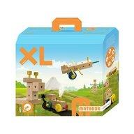 Matador - Set cuburi de constructie din lemn Maker XL, +3 ani,