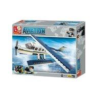 Sluban - Set de constructie Vehicul Hidroavion , 214 piese