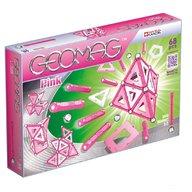 Geomag - Set de constructie magnetic, 68 piese, Pink