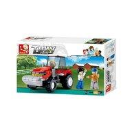 Sluban - Set de constructie Vehicul Tractor , 103 piese