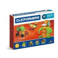 Clicstoys - Set de constructie Multifunctional Basic , Clicformers ,  50 piese