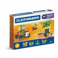 Clicstoys - Set de constructie Multifunctional Basic , Clicformers , 90 piese