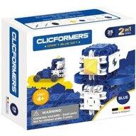Clicstoys - Set de constructie Multifunctional Craft , Clicformers , 25 piese, Albastru