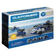Clicstoys - Set de constructie Multifunctional Mini Transporter , Clicformers , 30 piese