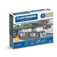 Clicstoys - Set de constructie Multifunctional Politie , Clicformers , 72 piese