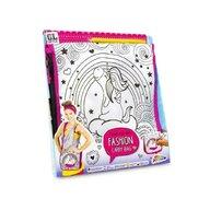 Grafix - Set de creatie - Coloreaza gentuta Unicorn
