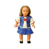 Dress Your Doll - Set de croitorie hainute pentru papusi Couture Emily Heart jeans,