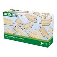 BRIO - Set extensie sine de tren , Pentru intermadiari