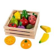 Ecotoys - Set de fructe cu magnet