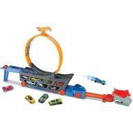 Hot Wheels - Set de joaca Mattel - Pista pentru cascadorii Stunt and Go