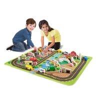 Melissa & Doug - Set de joaca si covoras orasul
