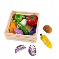 Ecotoys - Set de legume cu magnet