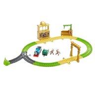 Fisher Price - Tren Monkey Palace Cu sina, Cu vagoane, Cu locomotiva motorizata by Mattel Thomas and Friends