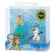 Bullyland - Set figurine Anna cu Olaf , Disney Frozen Fever