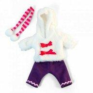 Miniland - Imbracaminte si incaltaminte Set imbracaminte vreme rece , Pentru papusi de 32 cm