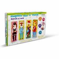 Fiesta Crafts - Set magnetic Amesteca si Potriveste - Animale si Profesii