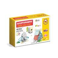 Clicstoys - Set de constructie Magnetic Animale , Magformers , 40 piese