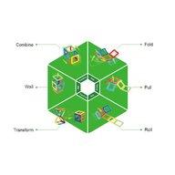Clicstoys - Set de constructie Magnetic De baza , Magformers , 30 piese