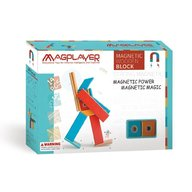 MAGPLAYER - Set magnetic din lemn 14 piese