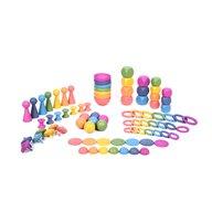 TickiT - Jucarie sortare Set mare de forme In culorile curcubeului