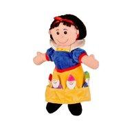 Fiesta - Set Marioneta Alba-ca-Zapada pentru teatru papusi  hand-puppet  3 ani+