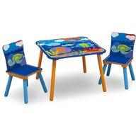 Delta Children - Set masuta si 2 scaunele Ocean