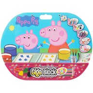 AS - Set Giga block , Peppa Pig , 5 in 1, Pentru desen